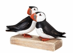 Archipelago Hand Crafted Wooden Puffin Block