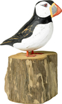 Archipelago Hand Crafted Wooden Small Puffin