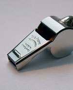 Large Acme Thunderer Metal Whistle (58.5)
